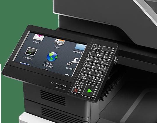 TouchScreen Copier