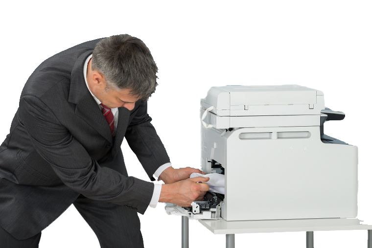Fixing a broken copier