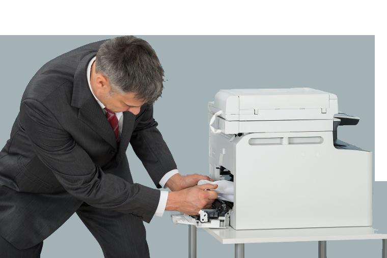 Fixing a broken copier
