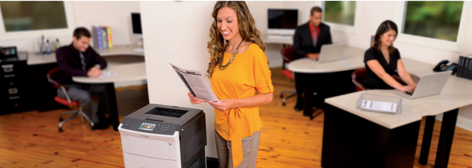 Improve Productivity with the Easy and Intuitive Lexmark M1145 from Duplicated Business Solutions - Banner