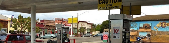 Old Town Orcutt - Local Businesses seen Through the Old 76 Station.jpg