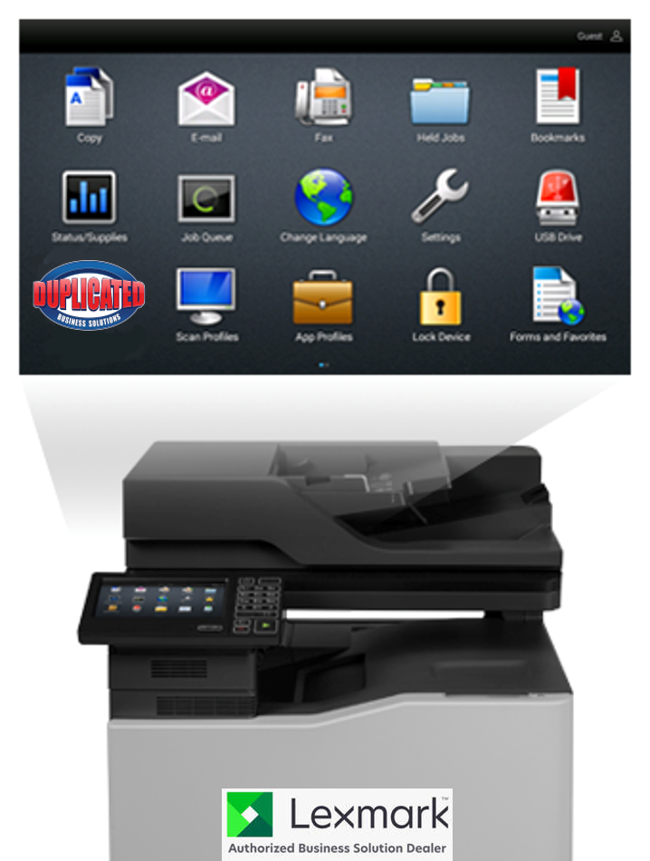 Click here to explore the many facets of Lexmark printers and MFP's and why Duplicated has partnered with the most durable and best quality manufacturer anywhere.